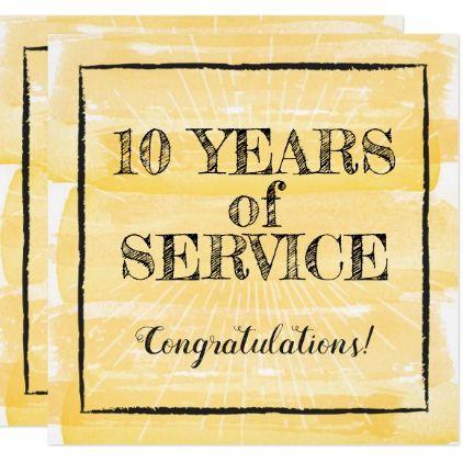 Milestone Employee Anniversary Recognition Award Invitation Zazzle Com Recognition Awards Anniversary Invitations Invitations