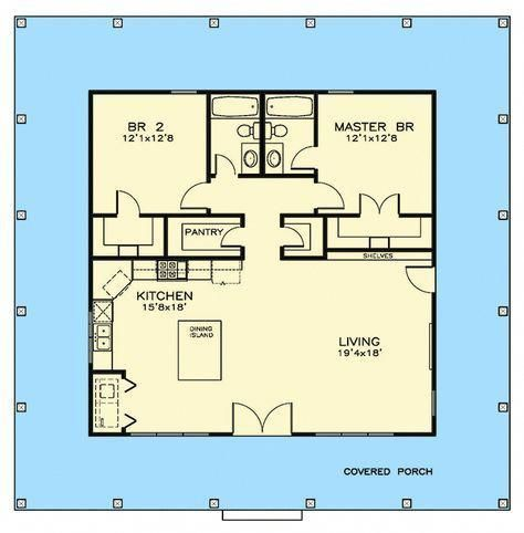 Look At This Incredible Photo What An Inventive Concept Small House Floor Plans Cottage Floor Plans Southern Cottage