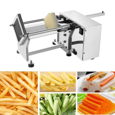 Stainless Steel French Fry Cutter French Fry Vegetable Cutter Homemade