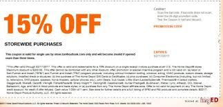 Home Depot 15 Off Coupon Home Depot Coupons Coupons Home Depot Credit