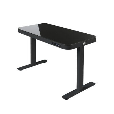 Sabine Electric Adjustable Standing Desk Color Snow White In 2020