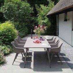 Hartman Sophie Sitzgruppe Sessel 7tlg Tisch 240cm Sitzgruppe Aussenmobel Gartensofa
