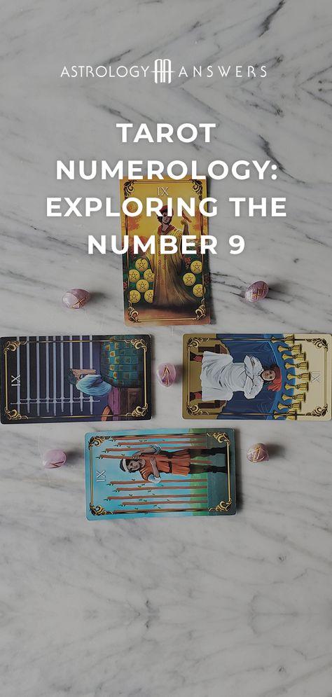 What blessings, trials, or difficulties await when you draw a 9 in your tarot reading? 🔮 #tarot #tarotnumerology #ninesoftarot #tarotdeck #tarotcards #tarotreading