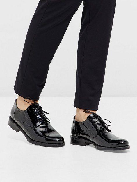 Bianco Kleid Schuhe, Obermaterial aus Leder oder