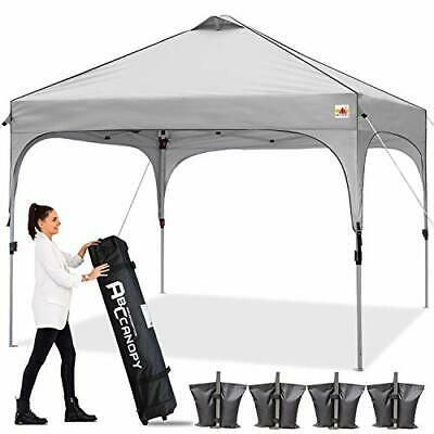 Canopy Tent 10x10 Pop Up Canopy Outdoor Canopies Super Comapct Canopy Portable In 2020 Canopy Outdoor Portable Tent Canopy Tent
