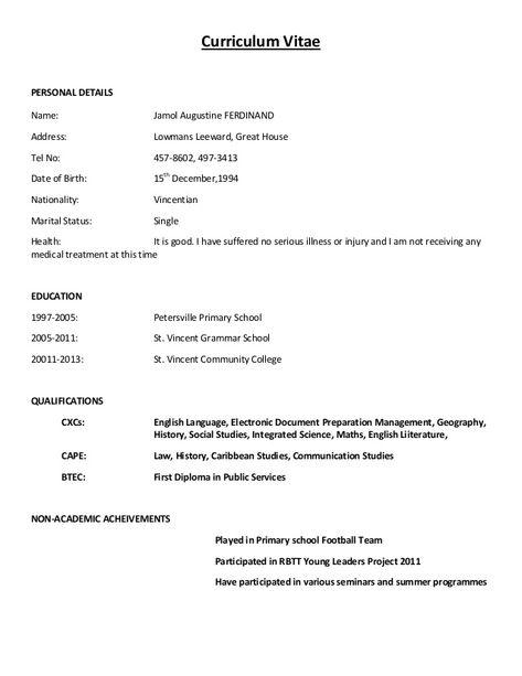 Simple Curriculum Vitae Format - Simple Curriculum Vitae Format - farm manager resume