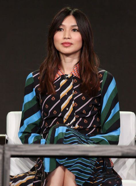 Gemma Chan #GemmaChan AMCs Humans Panel TCA Winter Press Tour in Los Angeles 14/01/2017 Celebstills G Gemma Chan