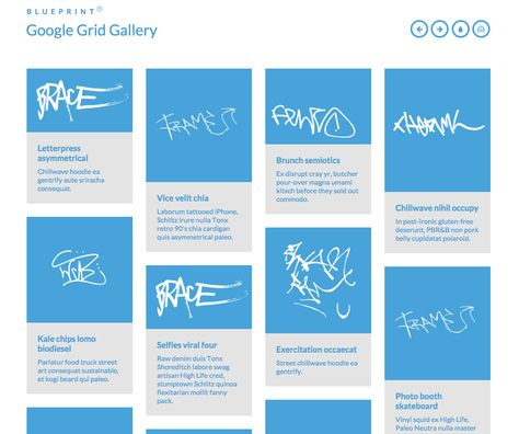 Http Tympanus Net Blueprints Gridgallery With Images
