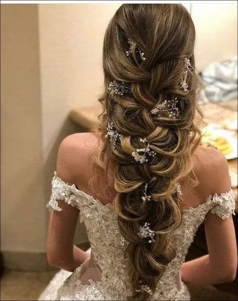 60+ Long Wedding Hairstyles and Updos from mpobedinskaya « The Best Fashion