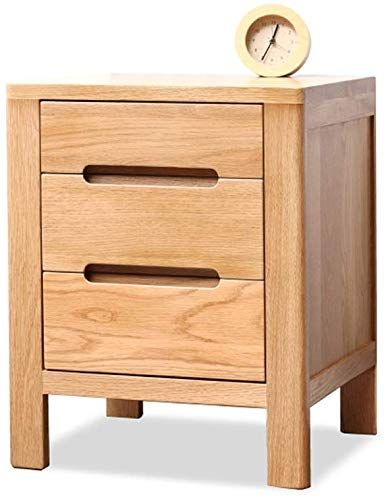 Buy Eahkgmh Nightstand End Table Storage Tower Modern Minimalist Solid Wood Bedside Table Nordic Oak Bedside Storage Cabinet Bedroom Small Cabinet Locker Online In 2020 Solid Wood Bedside Tables Chic Bedside Table