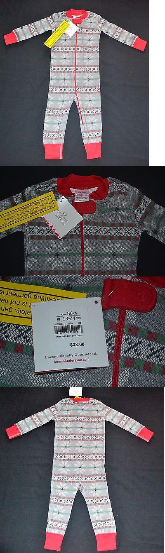 Sleepwear 147336: Hanna Andersson Fair Isle Pajamas Boy Long John ...