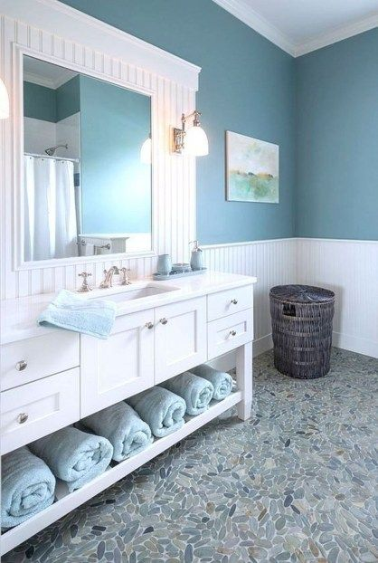 40 Great Coastal Bathroom Design And Decor Ideas With Images