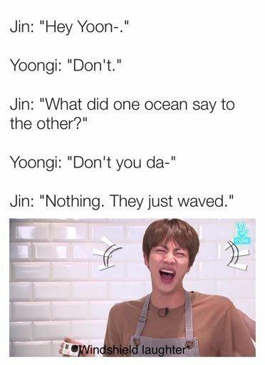 Demon Prince And Human Kpop Memes Bts Jin Dad Jokes Bts Memes