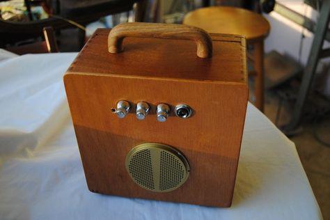 Cigar Box Amplifier Acid Rain