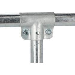 """x B 1/"""" 33,7 mm T-Schelle geschlossen A 1/"""" 33,7 mm"""