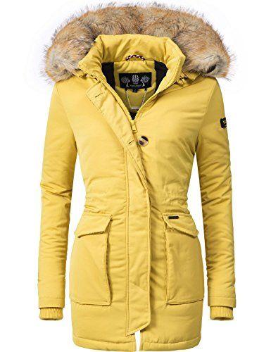 Navahoo Damen Winter Jacke Winter Mantel Schneeengel (vegan