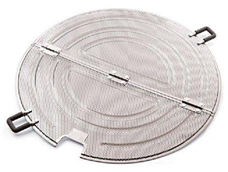 Non-Stick Splash Free Splatter Guard with Handle Egypto Splatter Screen for Frying Pan 28cm