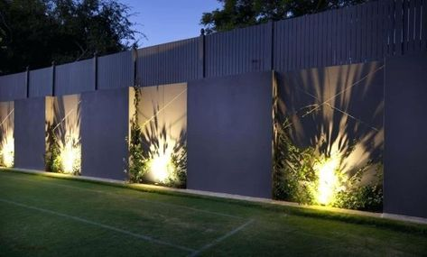 Garden Fence Lighting Ideas Uk