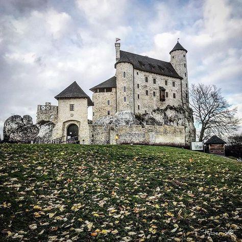autumn Bobolice Royal Castle from XIV...