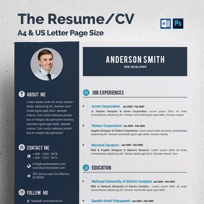 Web Developer Cv Resume Template 68317 Templatemonster Cv Resume Template Web Developer Cv Resume Template