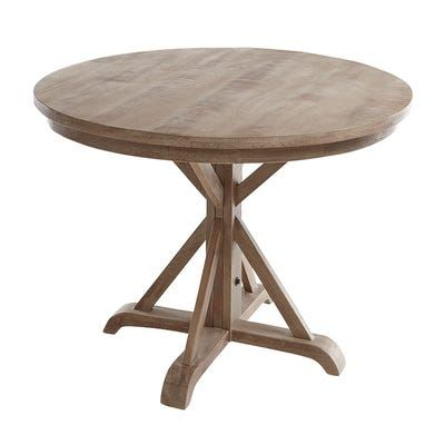 Treviso Gray 45 Round Dining Table In 2020 Dining Table Round