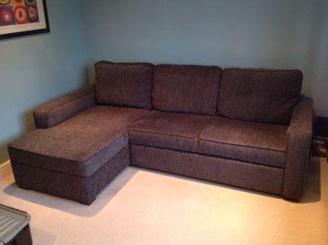 Corner Sofa Bed In Grey From Furniture Village Excellent