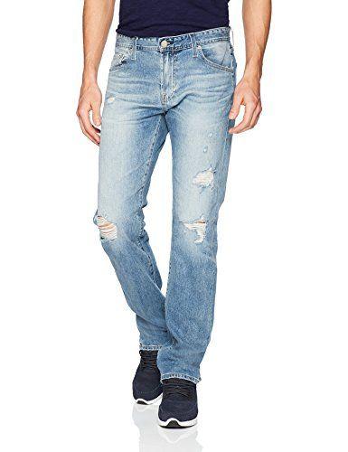 AG Adriano Goldschmied Mens Matchbox Slim Fit Straight Leg Jean
