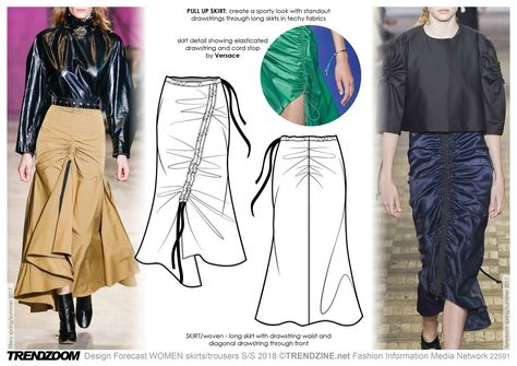Trendzoom: Design Forecast Women Skirts & Trousers S/S 18 - Tendencias (#827800)