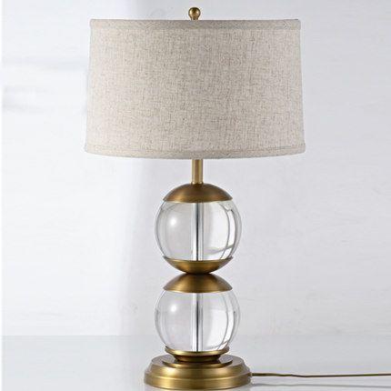 Modern desk lamps led table lights luxury bed side table