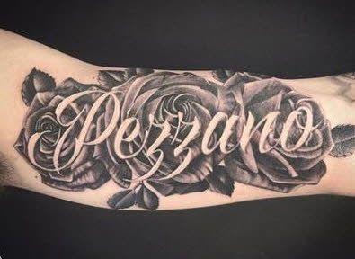 Tattoos Of Names Original Tatuajes De Rosas Tatuajes Tatuajes De Nombres En El Brazo
