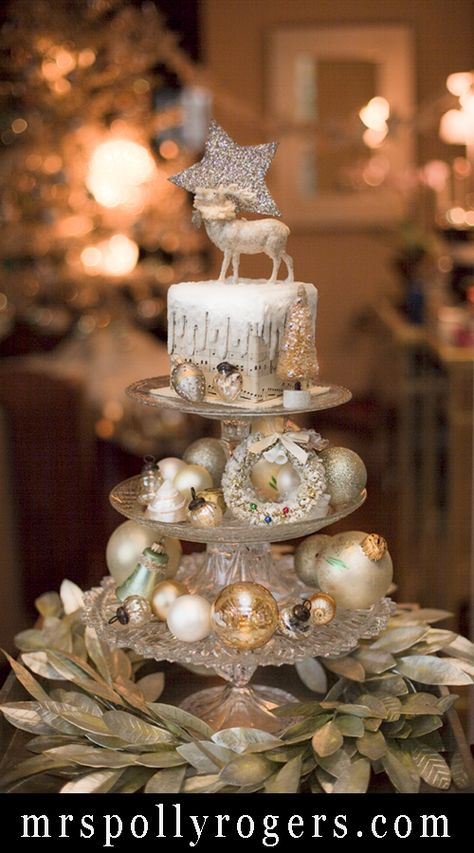 Holiday Stacked Server - Mrs. Polly Rogers | Decorate, Make, Create! | Mrs. Polly Rogers | Decorate, Make, Create!