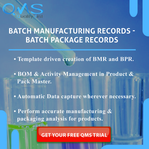 Batch Manufacturing Records -Batch Package Records