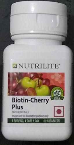 Amway Nutrilite Biotin Cherry Plus 60 Tablets Amway Https Www