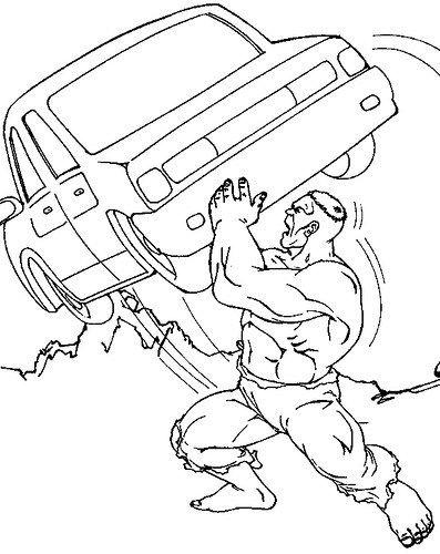 Dibujos De Hulk Para Colorear Bebote Hulk Dibujos Para Colorear