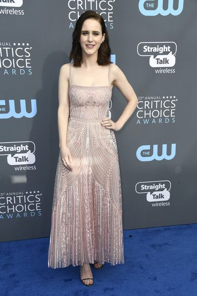 Rachel Brosnahan in Zuhair Murad - The Most Daring Dresses at the 2018 Critics' Choice Awards - Photos