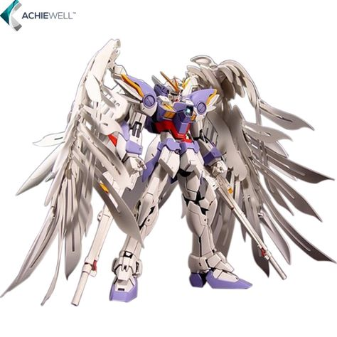 Marca 1:100 MG Gundam 20 cm Wing Zero Wing Fighter MG028