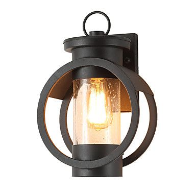 190 96 Qingming Waterproof Mini Style Retro Country Flush Mount Wall Lights Outdoor Wall Lights Outdoor Lights Garden Metal Wall Light Ip65 110 120v 220 240 In 2020 Metal Wall Light Outdoor Wall Lighting Patio Lamp