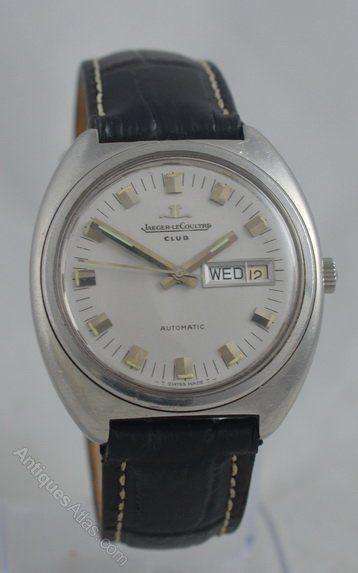 1970s Jaeger Le Coultre Club Wristwatch Wrist Watch Women Wrist Watch Vintage Watches