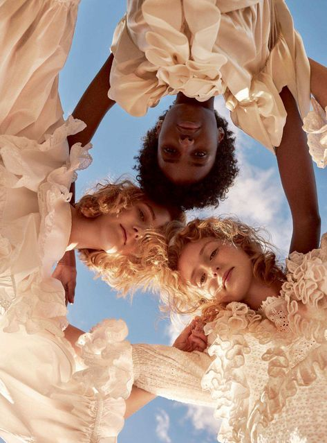 Agata Pospieszynska Delivers Sublime Loveliness In 'Young Hearts Young Free' For Harper's Bazaar UK May 2018 — Anne of Carversville