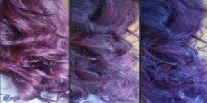 صبغات شعر بنفسجيpurple Hair Dyes Dyed Hair Rocks And Crystals Hair