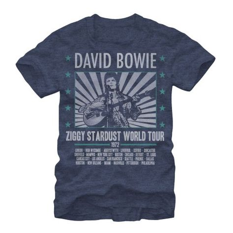 DAVID BOWIE STATION TO STATION T SHIRT ROCK POP ZIGGY OFFICIAL LICENSED