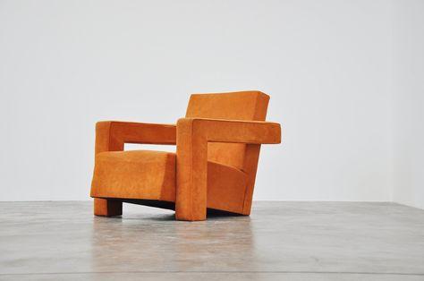 Design Stoelen Utrecht.Gerrit Thomas Rietveld Utrecht Chair Metz Co 1935 Comfortable
