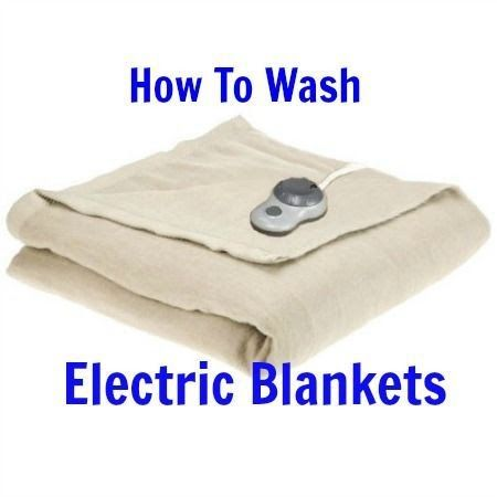How To Wash Electric Blankets Without Ruining Them Electric