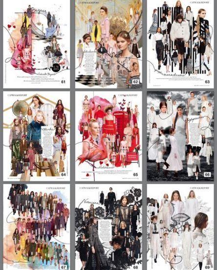 17 New Ideas fashion editorial layout creative harpers bazaar