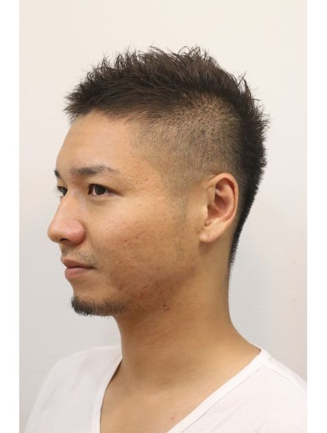 くせ毛 40 代 ショート 髪型 男性