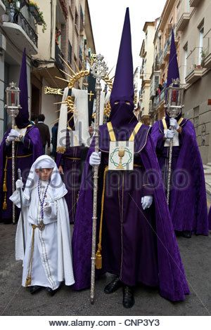 Semana Santa Holy Week Malaga Andalusia Spain Stock Photo Holy Week Malaga Photo
