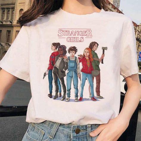 Stranger Things 3 Funny Printed T-shirt, 1021 / XXL