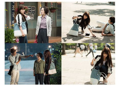 """Park Shin Hye in """"Doctors"""" Tote Bag"""