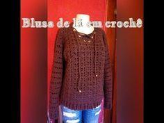 Vestido De Croche Serenity Henrique Silva Tv Youtube Blusas
