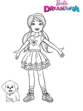Barbie Chelsea Printable Coloring Pages In 2020 Barbie Coloring Pages Barbie Coloring Coloring Pages
